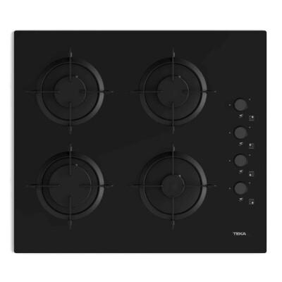 Teka - Teka HEL LUX 60 4G AI AL L Ankastre Ocak, Siyah, 60cm